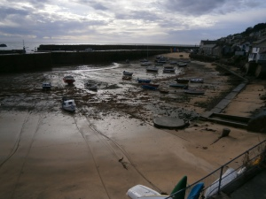 Low tide at Mousehole